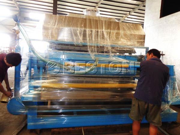 Máquina para fabricar bandejas de huevos a Dominica