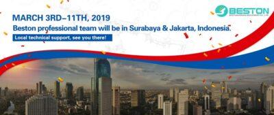 أخبار سارة: سيزور Beston إندونيسيا في مارس 2019
