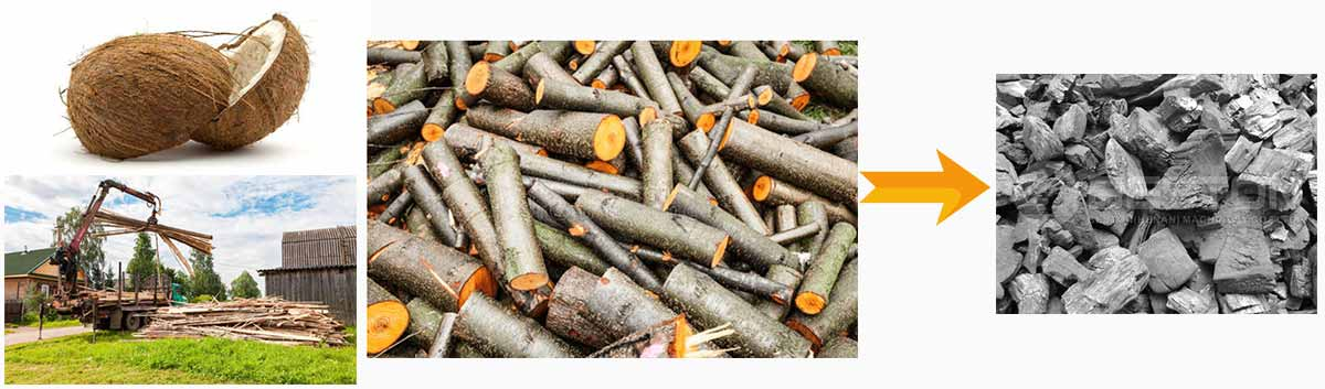 Make Charcoal With Carbonization Stove