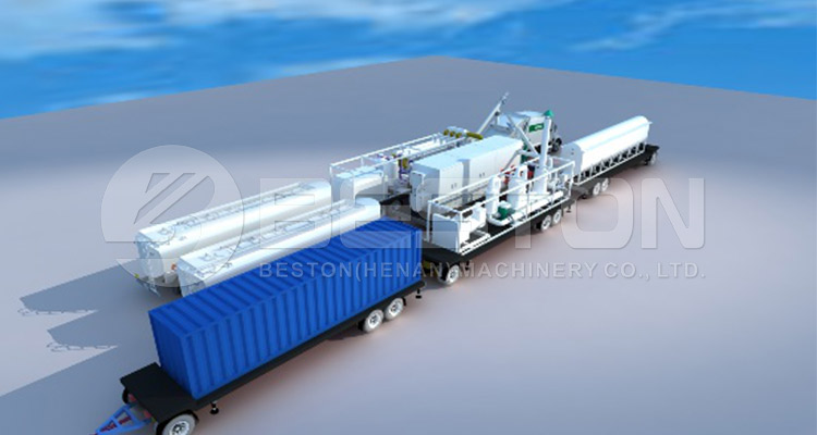 Mobile Pyrolysis Plant