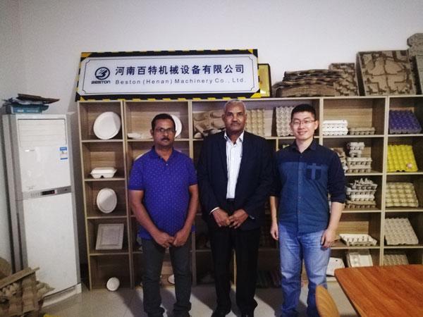 Saudi Arabia Customer Visited Beston Machinery