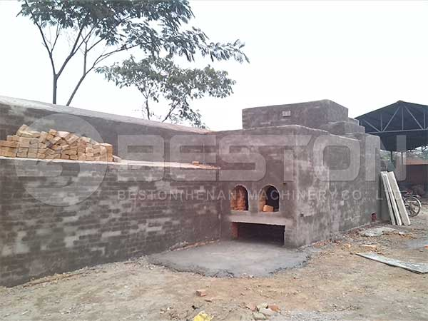 Semi Brick Drying System