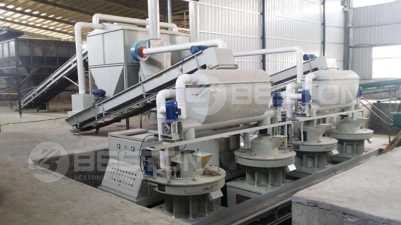 Máquina de fabricación de pellets para la venta