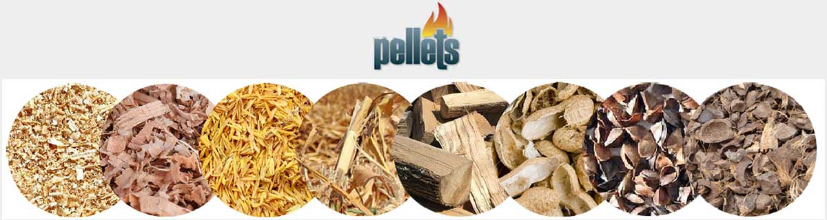 Materias primas para hacer pellets de biomasa