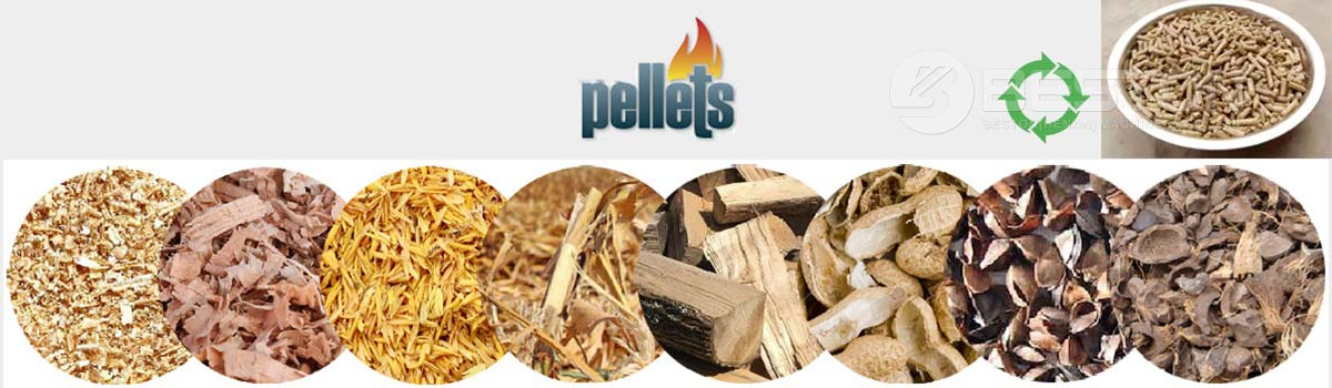 Materias primas para fabricar pellets
