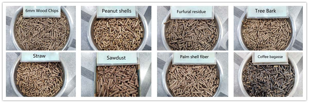 Superior Pellets From Beston Biomass Pellet Machine