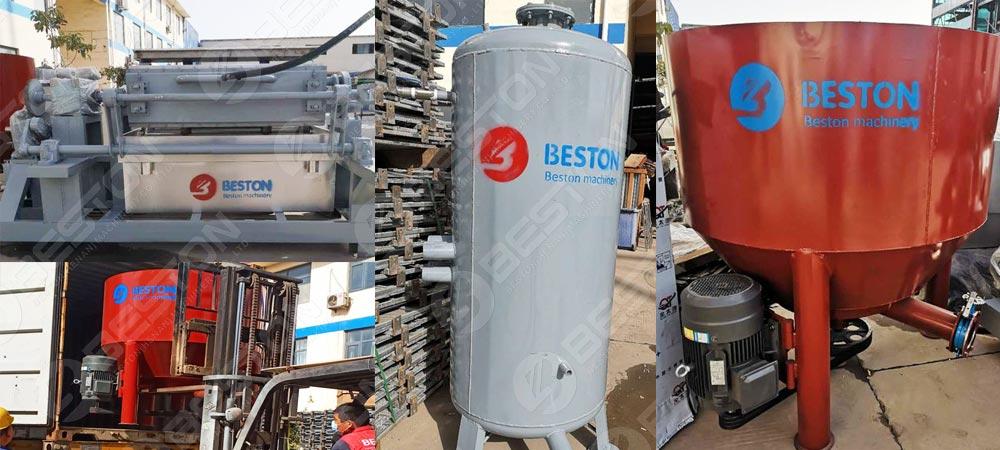 Egg Tray Making Machine to Nigeria