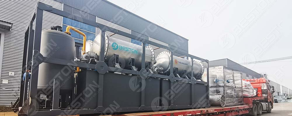 BLJ-16 Pyrolysis Plant Is Ready to Nigeria