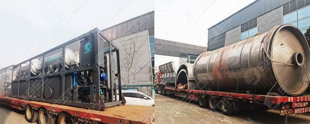 Delivery of BLJ-16 to Nigeria