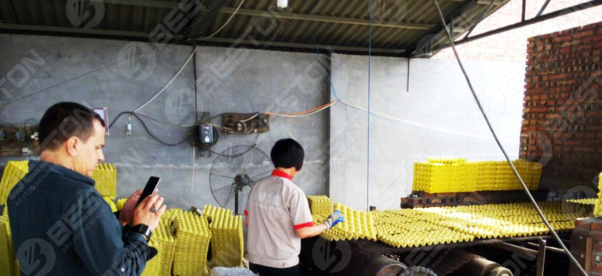 Egg Tray Making Factory