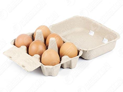 Коробка с 6 яйцами
