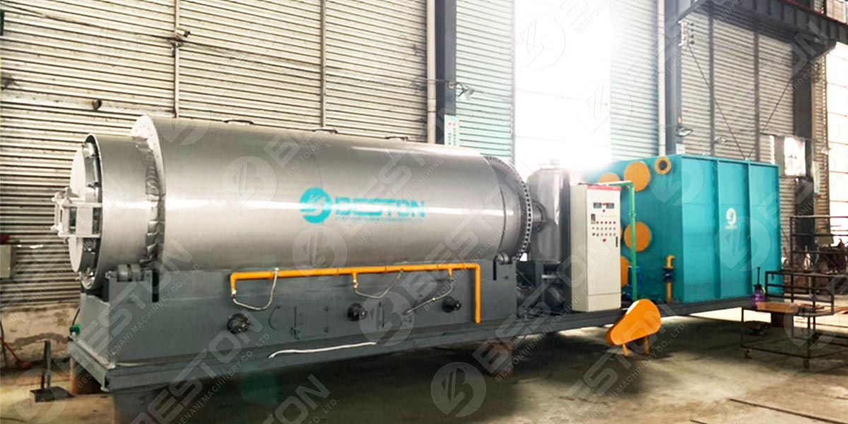 BLJ-3Skid Mounted Pyrolysis Plant to Paraguay