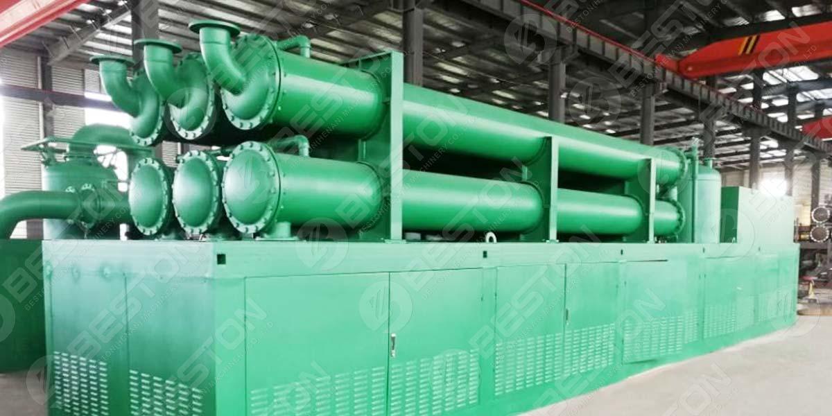 مصنع التحلل الحراري المستمر للإطارات في الفلبين