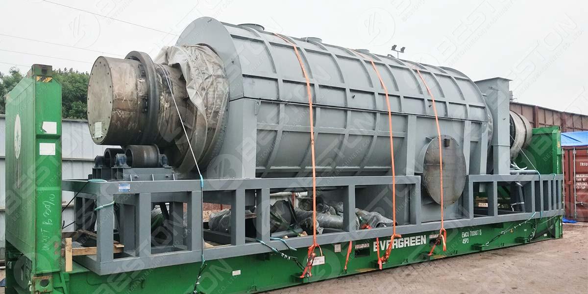 Máquina BST-20 para a Turquia