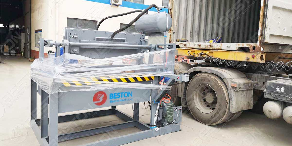 BTF1-3 Egg Tray Machine to Ghana