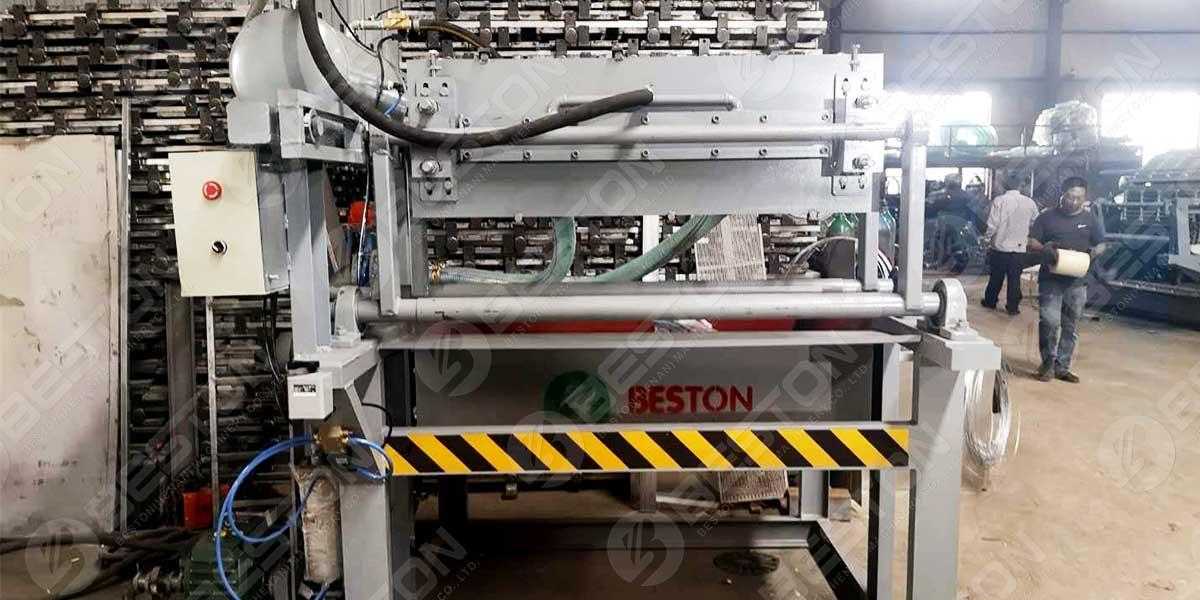 BTF1-3 Egg Tray Machine to Indonesia