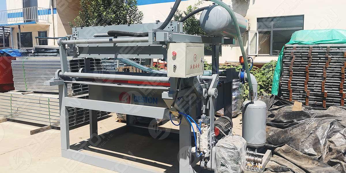 BTF1-3 Egg Tray Machine to the Philippines