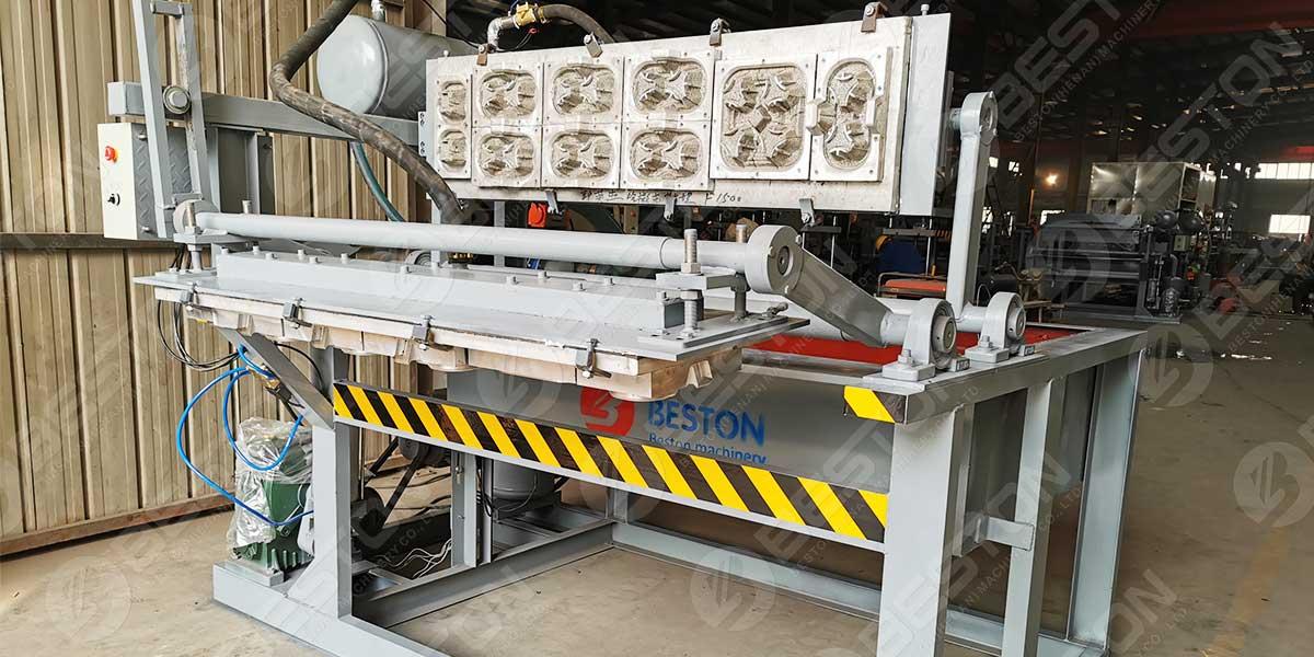 BTF1-4 Coffee Cup Tray Machine to Kazakhstan