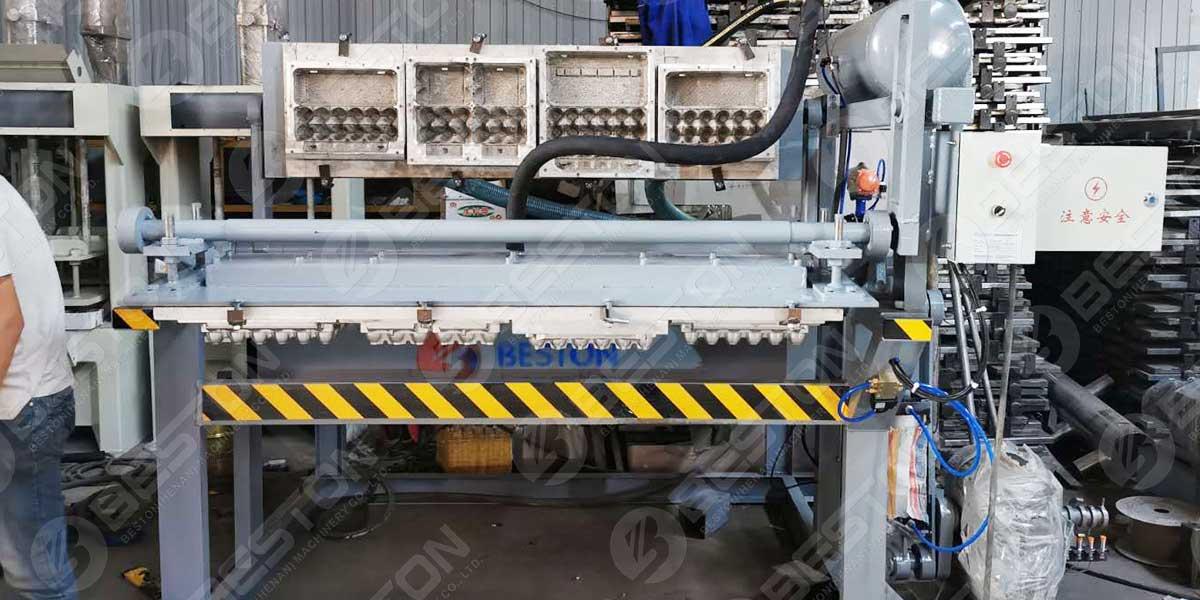 Máquina de embalagem de ovos BTF1-4 para Botswana