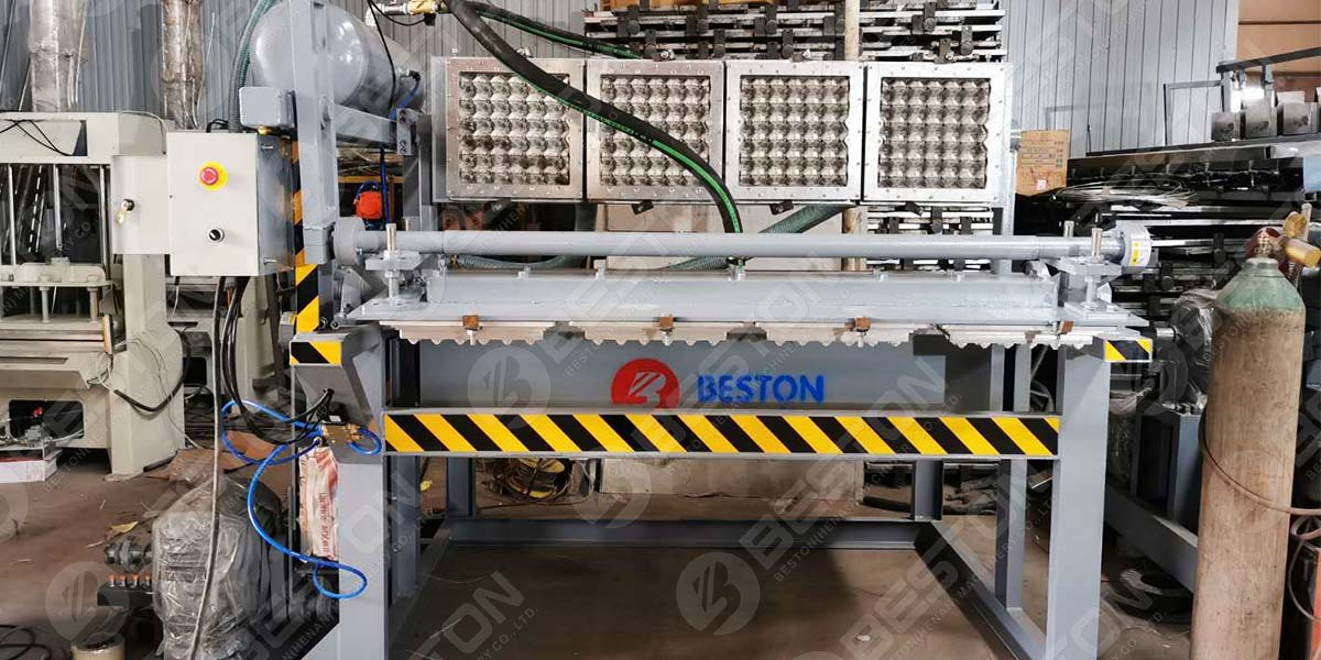 BTF1-4 Egg Tray Machine to Colombia