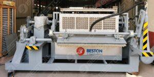 BTF4-4 2500pcs Egg Tray Making Machine to Peru