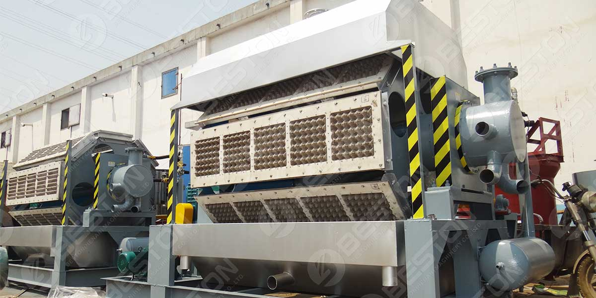BTF5-8 5000-5500pcs Máquina de fazer bandejas para ovos