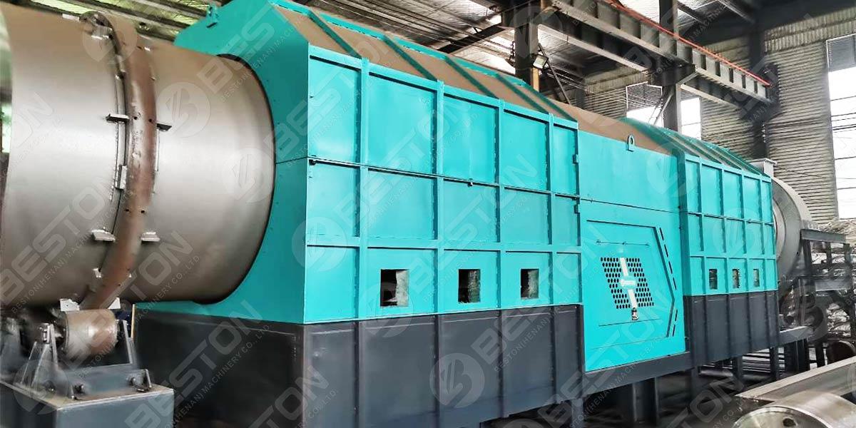 Машина для производства древесного угля Beston Rice Hull