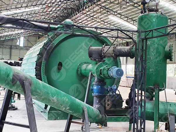 Tyre Pyrolysis Plant in the Philippines