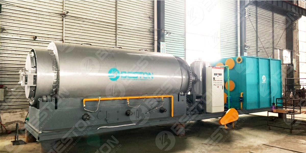 BLJ-3 Skid-Mounted Pyrolysis Plant to Paraguay
