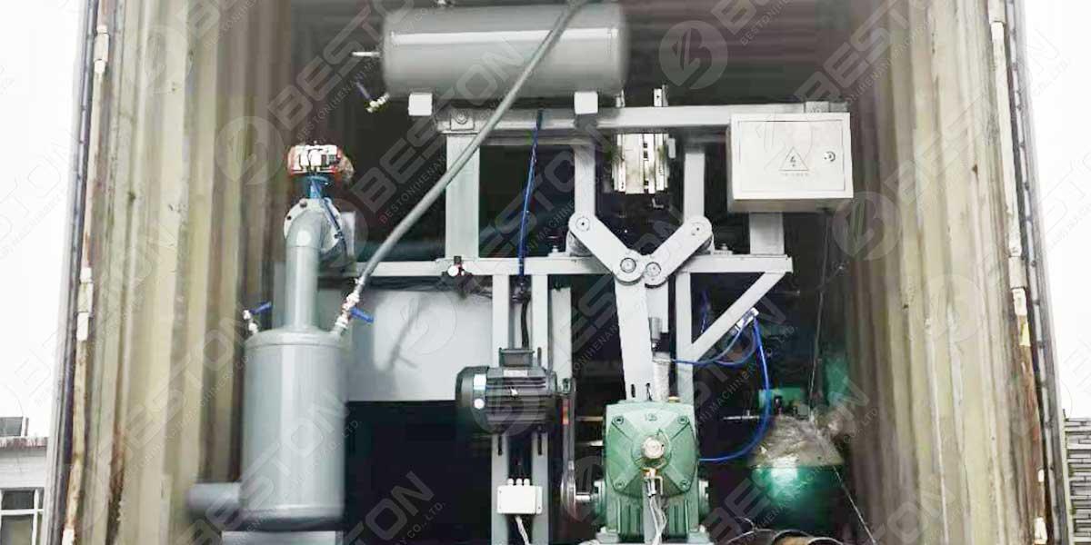 Máquina de embalagem de ovos BTF1-3 para a Zâmbia