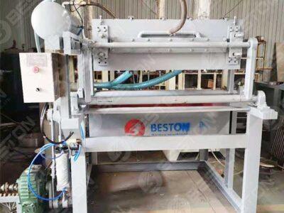 1000pcs Mesin Pembuat Karton Telur ke Zambia