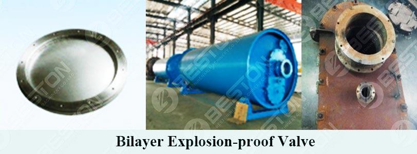 Двухслойный взрывозащищенный клапан