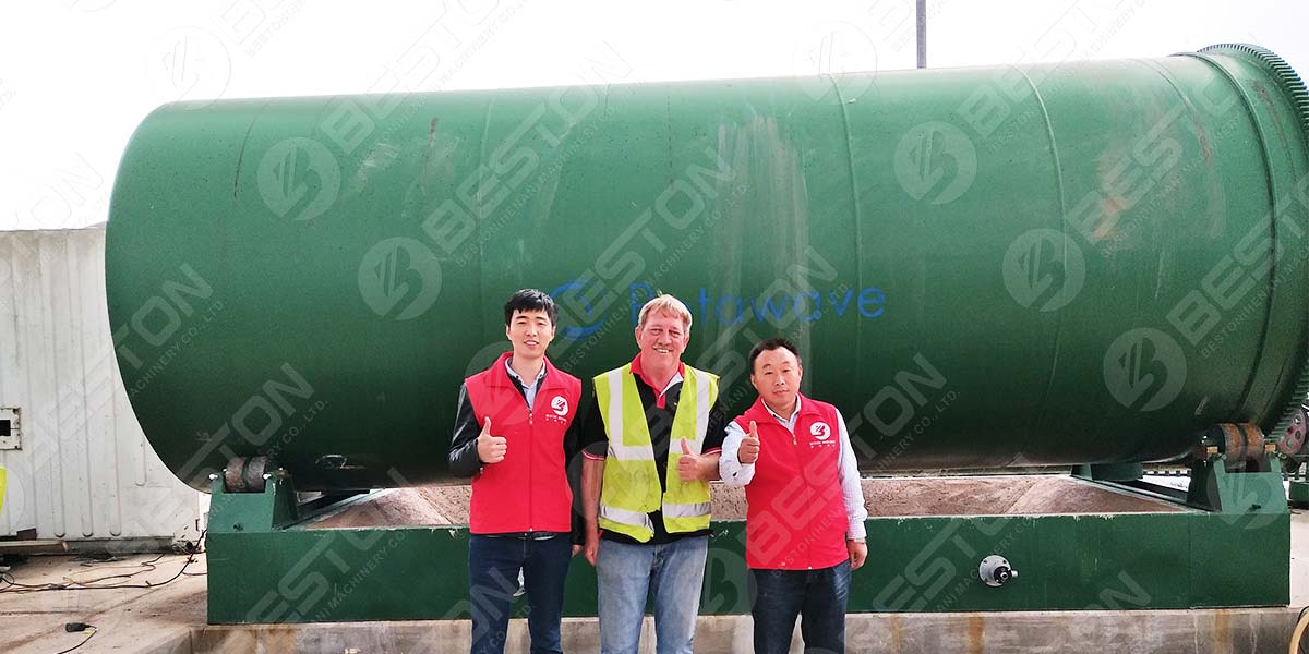 Install Tire Pyrolysis Plant in UK