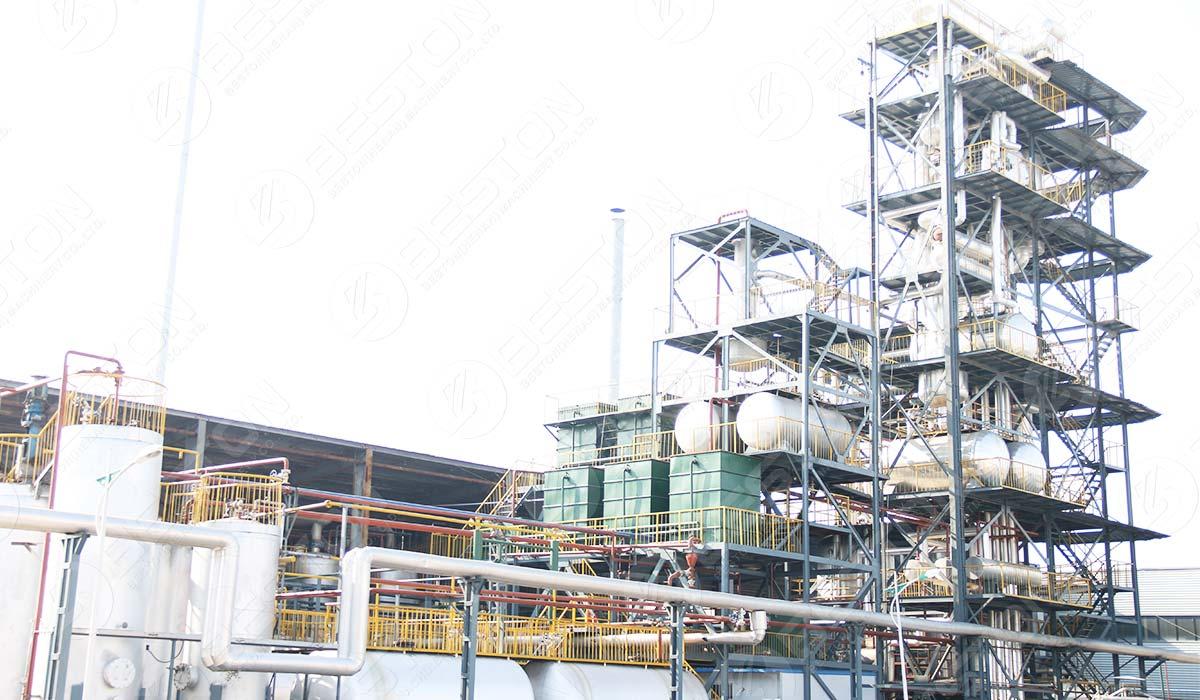 Mesin Destilasi Minyak