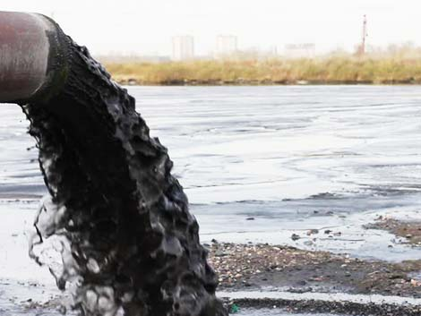 Нефтяной шлам с нефтяного месторождения