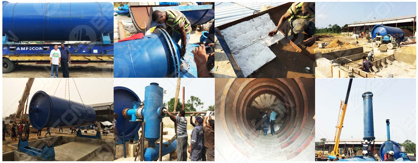 Завод по пиролизу нефтешламов установлен в Нигерии