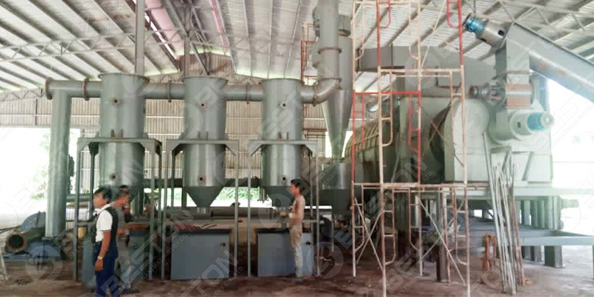 Palm Kernel Shell Charcoal Making Machine In Malaysia