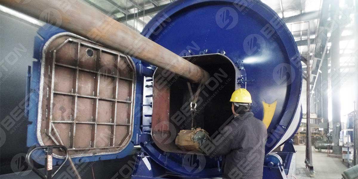 Neumático a planta de aceite a Uganda