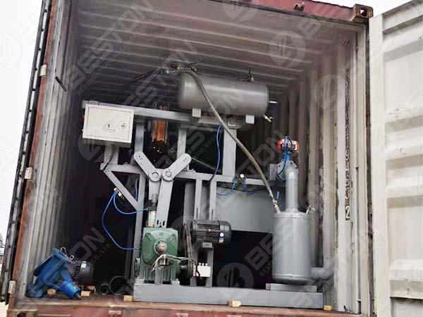 1000pcs Egg Tray Machine Ship to Sudan
