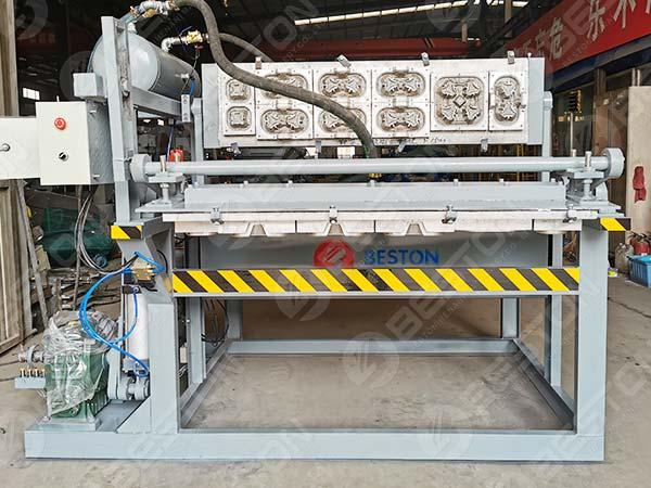 1500pcs Coffee Cup Tray Making Machine to Kazakhstan