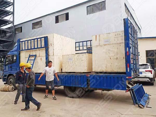 1500pcs Egg Tray Machine to Argentina