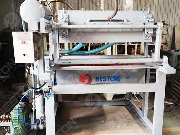 6+6 Egg Box Making Machine to Zambia