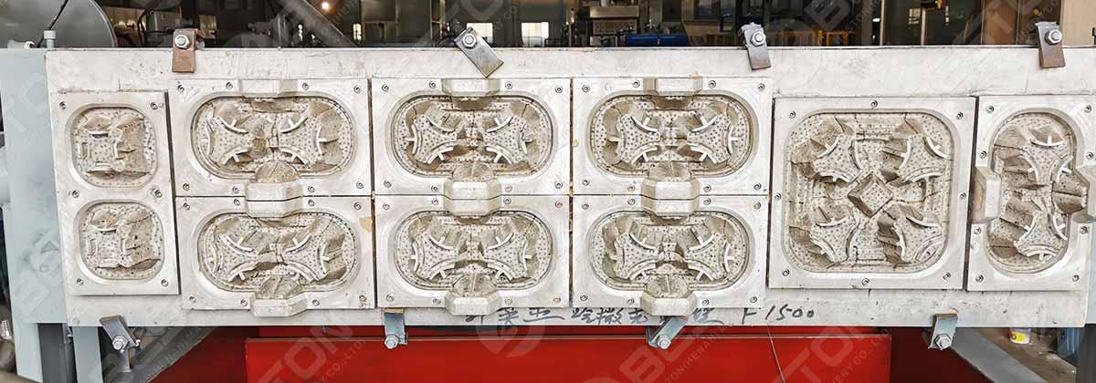 Aluminium Coffee Cup Tray Mold