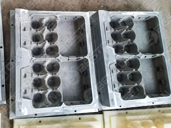 Aluminum Egg Box Mold