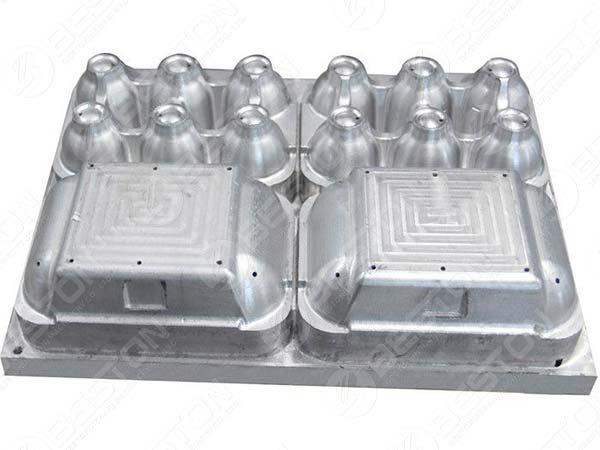 Aluminum Egg Box Mould