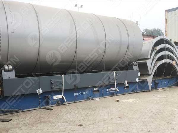 BLJ-16 Pyrolysis Plant to Morocco