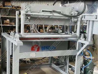 Mesin Baki Telur BTF1-3 1000pcs ke Sudan