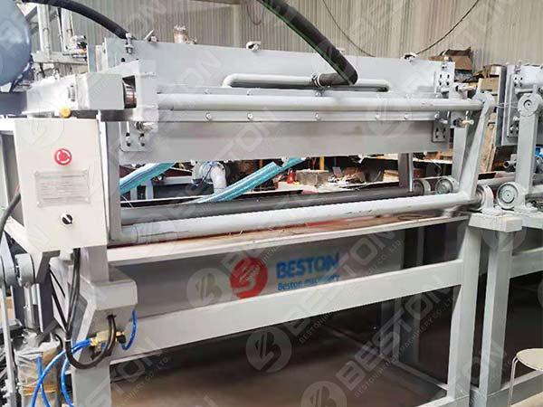 BTF1-4 1500pcs Egg Tray Machine to Lesotho