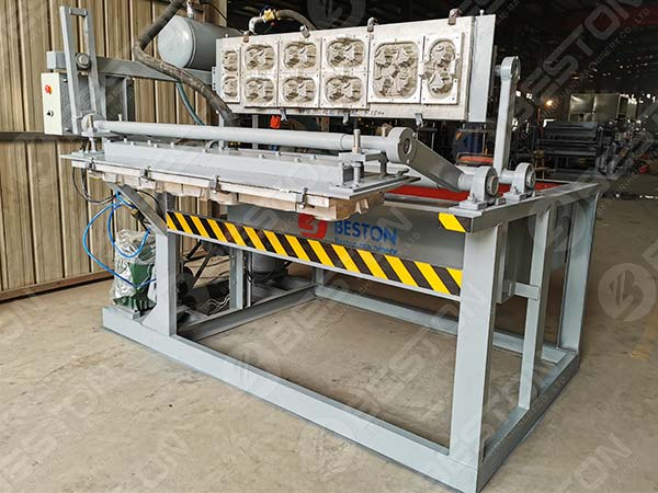 BTF1-4 Coffee Cup Tray Making Machine to Kazakhstan