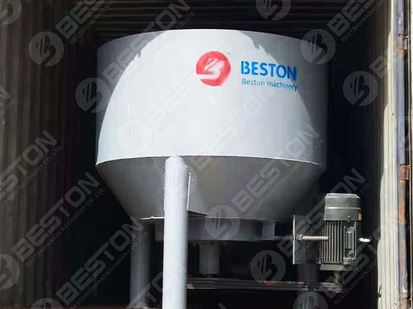 Beston Pulp Making Machine to Lesotho